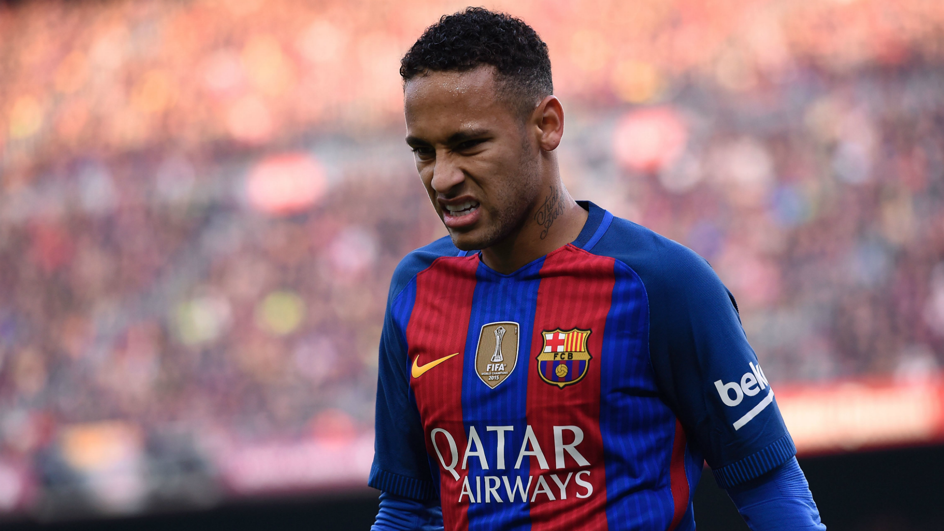 Neymar Barcelona Real Madrid La Liga