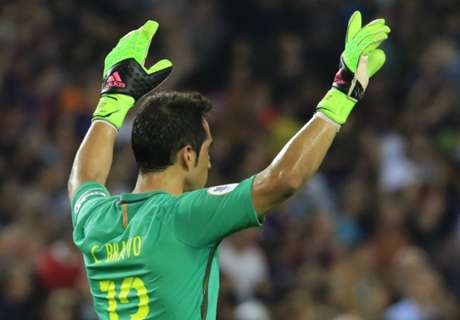 Bravo flies in to seal Man City deal