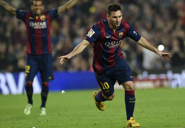 Barcelona 5-1 Sevilla: Messi smashes Liga goalscoring record with terrific treble