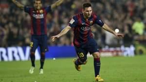 Argentina ace Lionel Messi sets new Liga goalscoring record