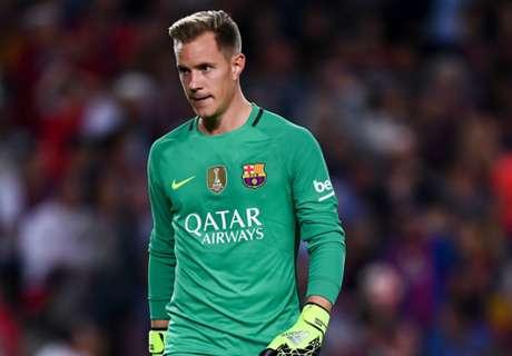 Ter Stegen apologises for Barca errors