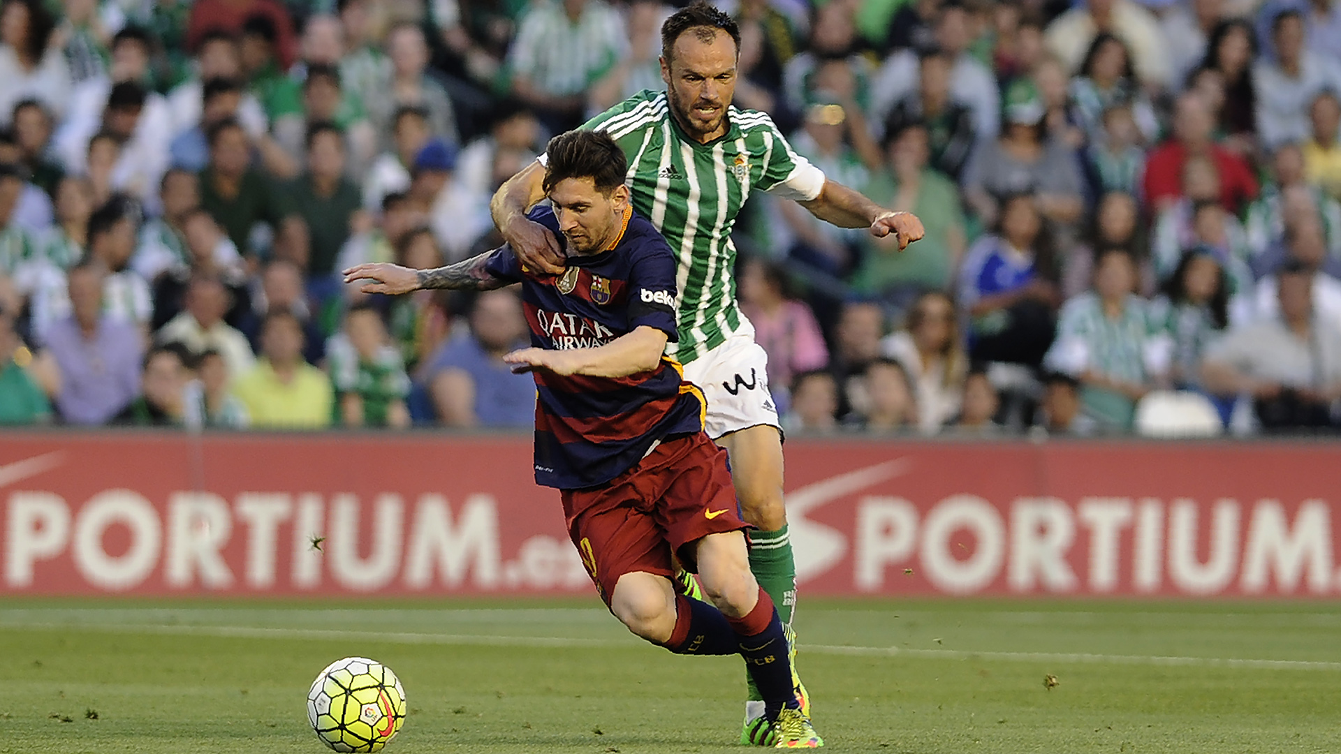 Lionel Messi Real Betis Barcelona 30042016