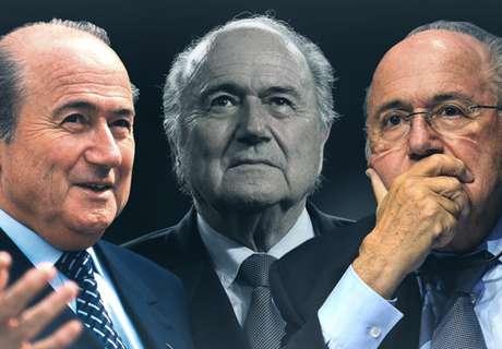 Les haut et les bas du règne de Blatter à la tête de la FIFA