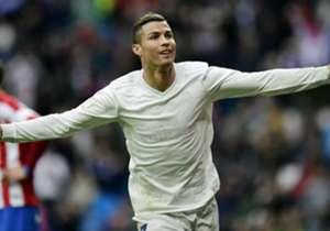 4) CRISTIANO RONALDO, Real Madrid - 40 goal (25 Liga, 10 Champions, 1 Coppa di Spagna, 4 Mondiale per Club)