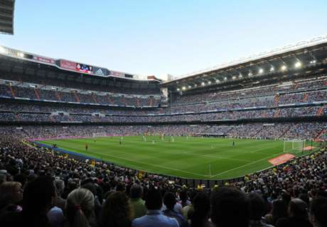 Rivales aplaudidos por el Bernabéu