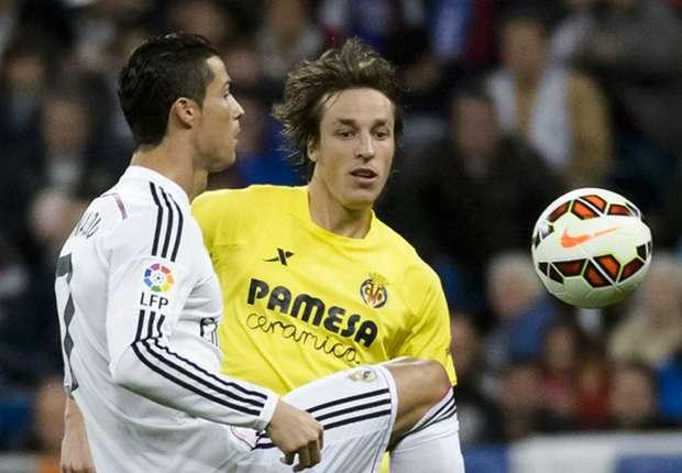 Cristiano Ronaldo (l.) traf per Elfmeter gegen Villarreal