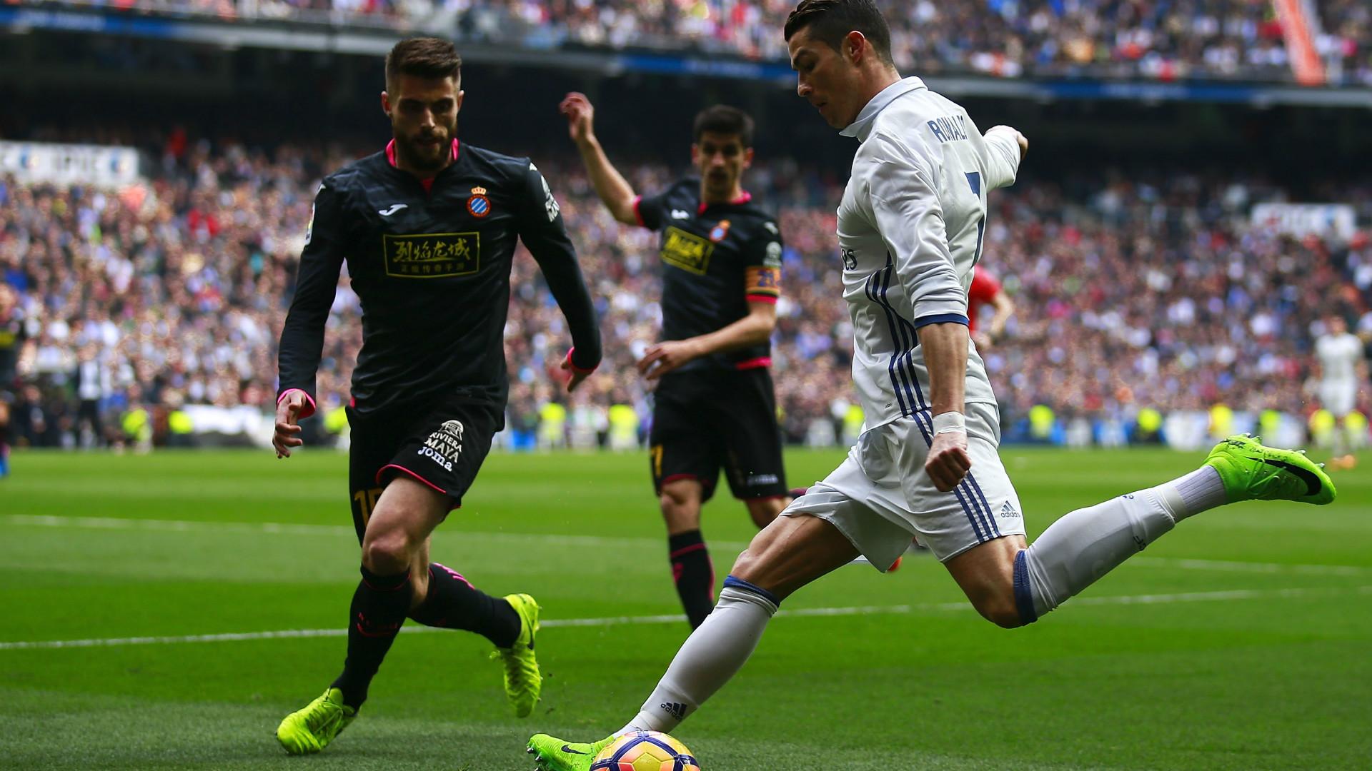 David Lopez Cristiano Ronaldo Real Madrid Espanyol LaLiga