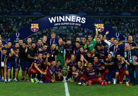 Los clubes con más Supercopas de Europa