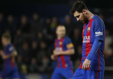 Barca leave La Liga in Madrid's hands