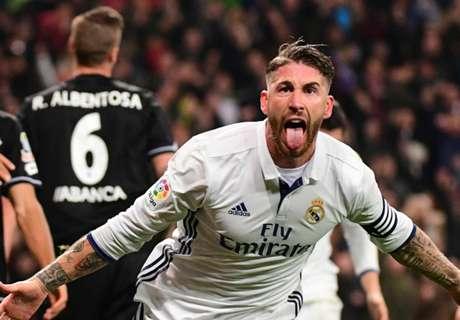 Real Madrid saved by Sergio Ramos
