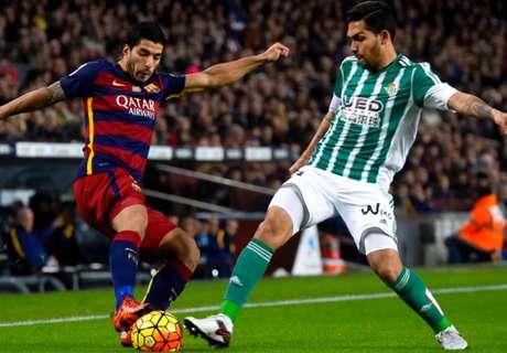 Las curiosidades del Betis - Barcelona