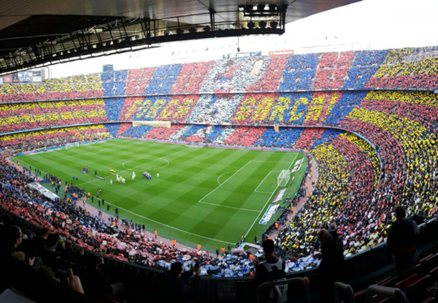 Barcelona dio a conocer el mosaico que recibirá al equipo en la Champions League