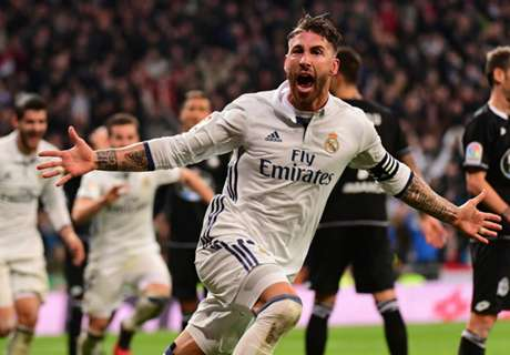 Ramos the hero for Real with late goal