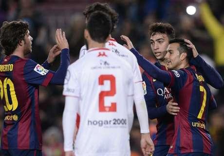Barça walst met 8-1 over Huesca heen