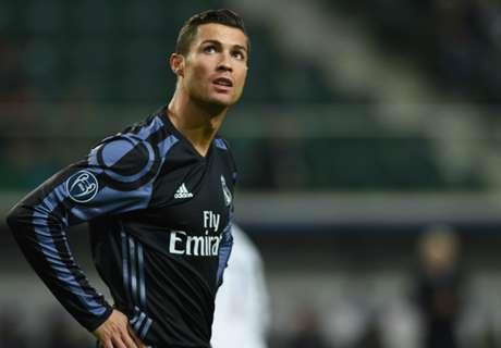 De clubs die Ronaldo stopten