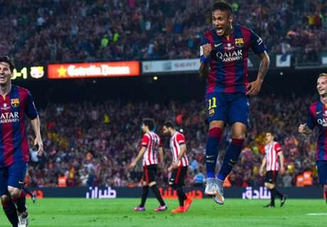 Oppermachtig Barça verovert Copa del Rey