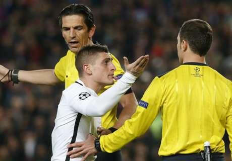 El PSG, molesto con el árbitro