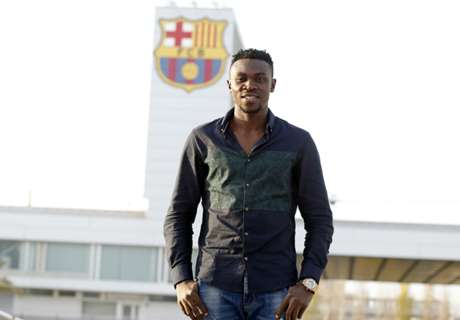Who is Barcelona signing Bassey?