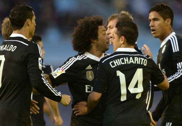 Celta Vigo 2-4 Real Madrid: Hernandez the hero again