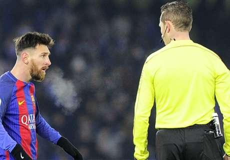 ¿Le perdonaron la expulsión a Messi?