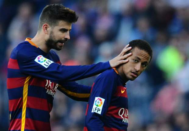 Pique: I'd bet an arm Neymar will never join Real Madrid