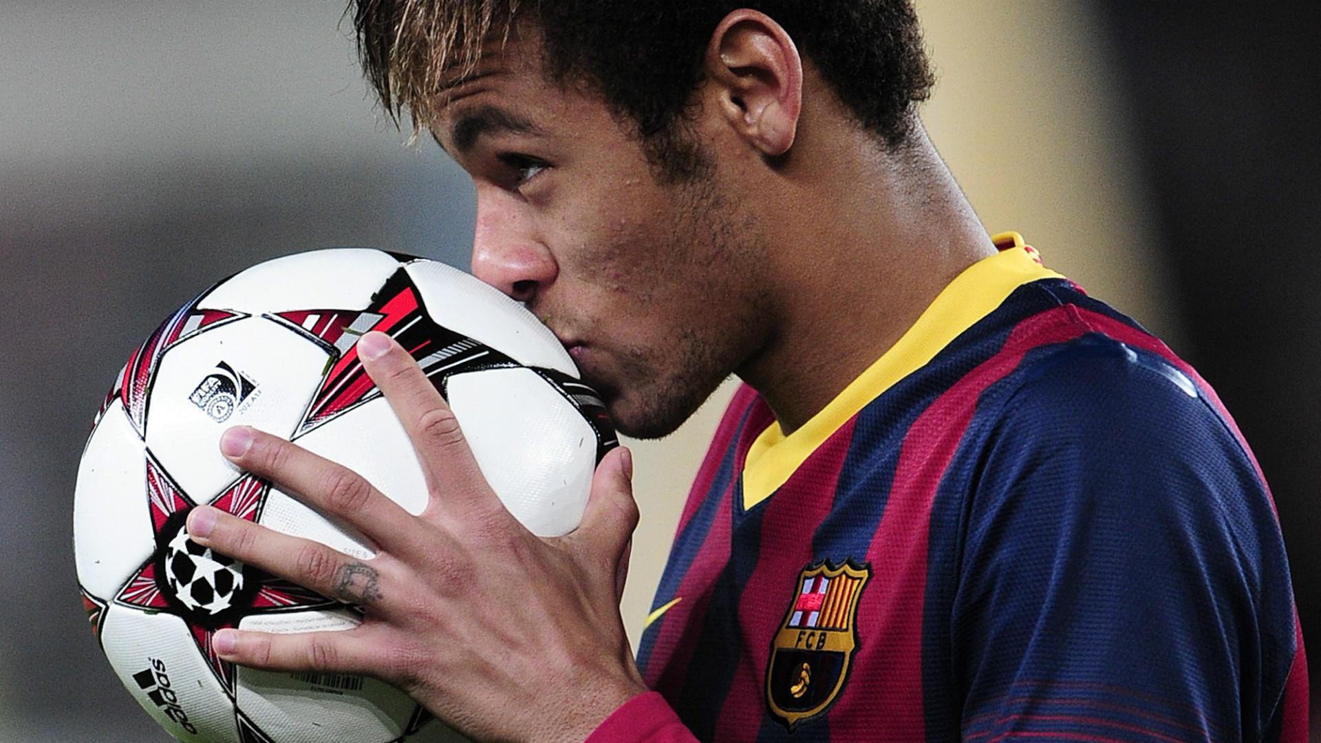 Neymar Barcelona Celtic 2013