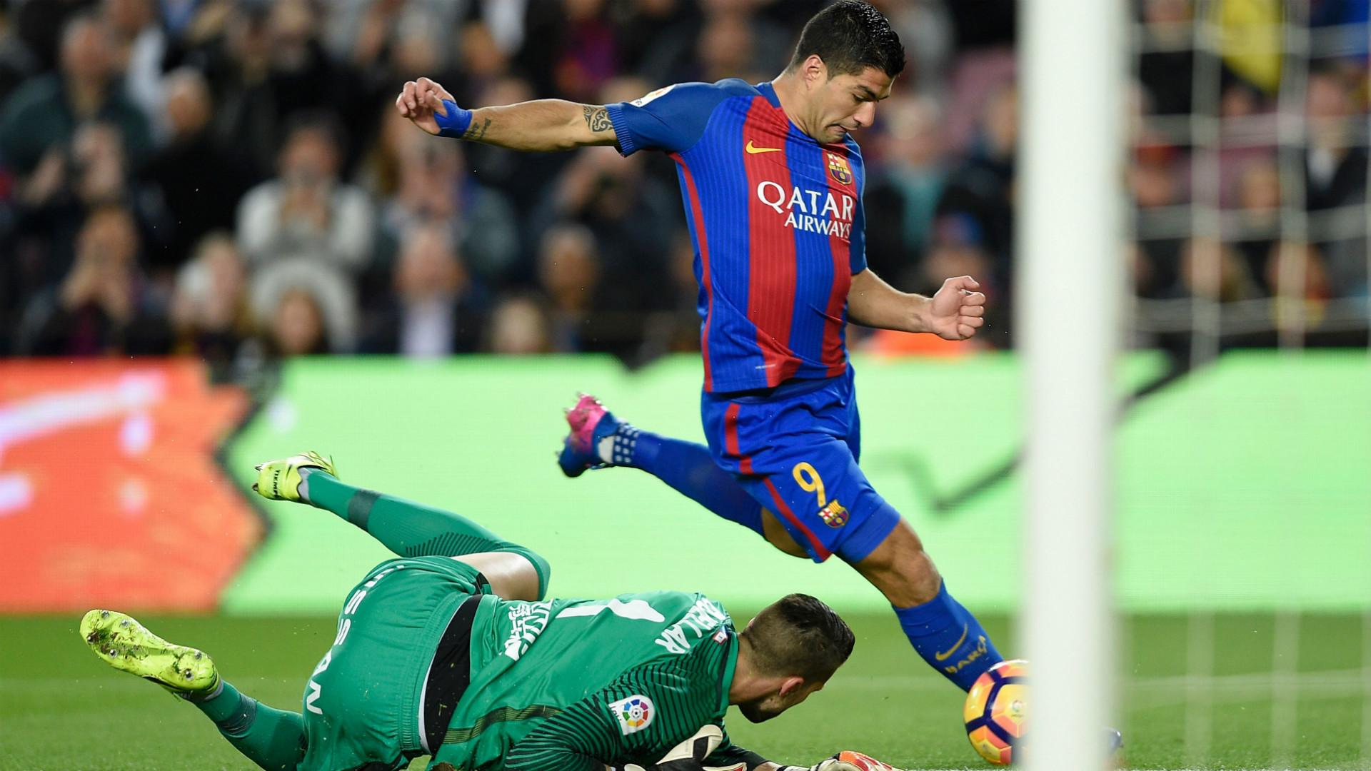 Luis Suarez Cuellar Barcelona Sporting Gijon LaLiga