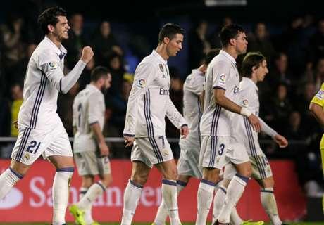 Comeback Brilian, Madrid Bekuk Villarreal