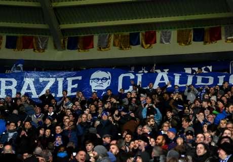 Los hinchas bancaron a Ranieri