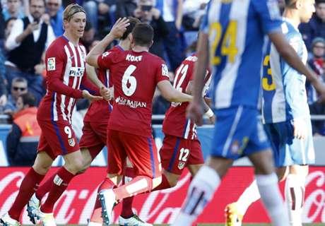 Atlético ganó y da pelea