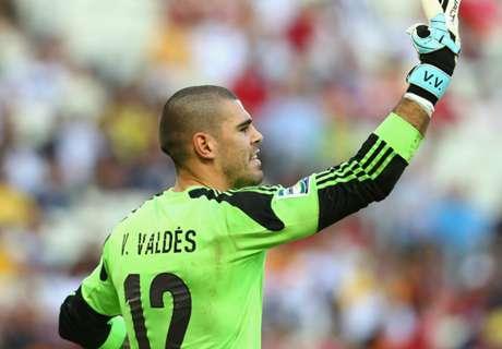 Valdés se despide de Manchester United