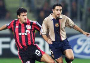 A LEADER IS BORN | Although Barcelona was going through a tough time in 2001-02, Xavi established himself as a mature midfielder despite being just 21 years old. He was at the heart of Carles Rexach's team.