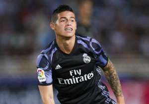 <strong>JAMES RODRÍGUEZ</strong> | Real Madrid | Pode seguir para o Chelsea ou a Juventus