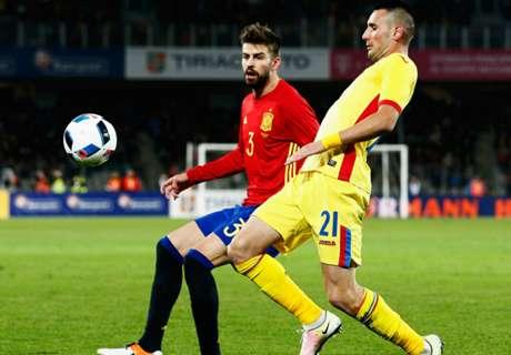 España no pudo con Rumania