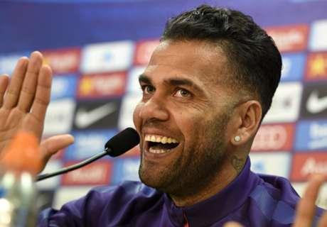 Alves: Barça no será campeón sin bajarse del autocar