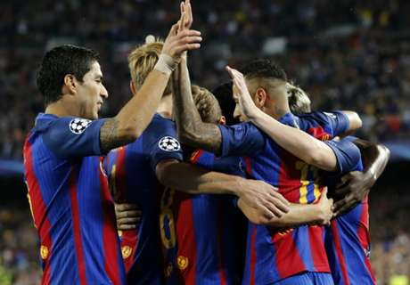 FT: Barcelona 4-0 Manchester City