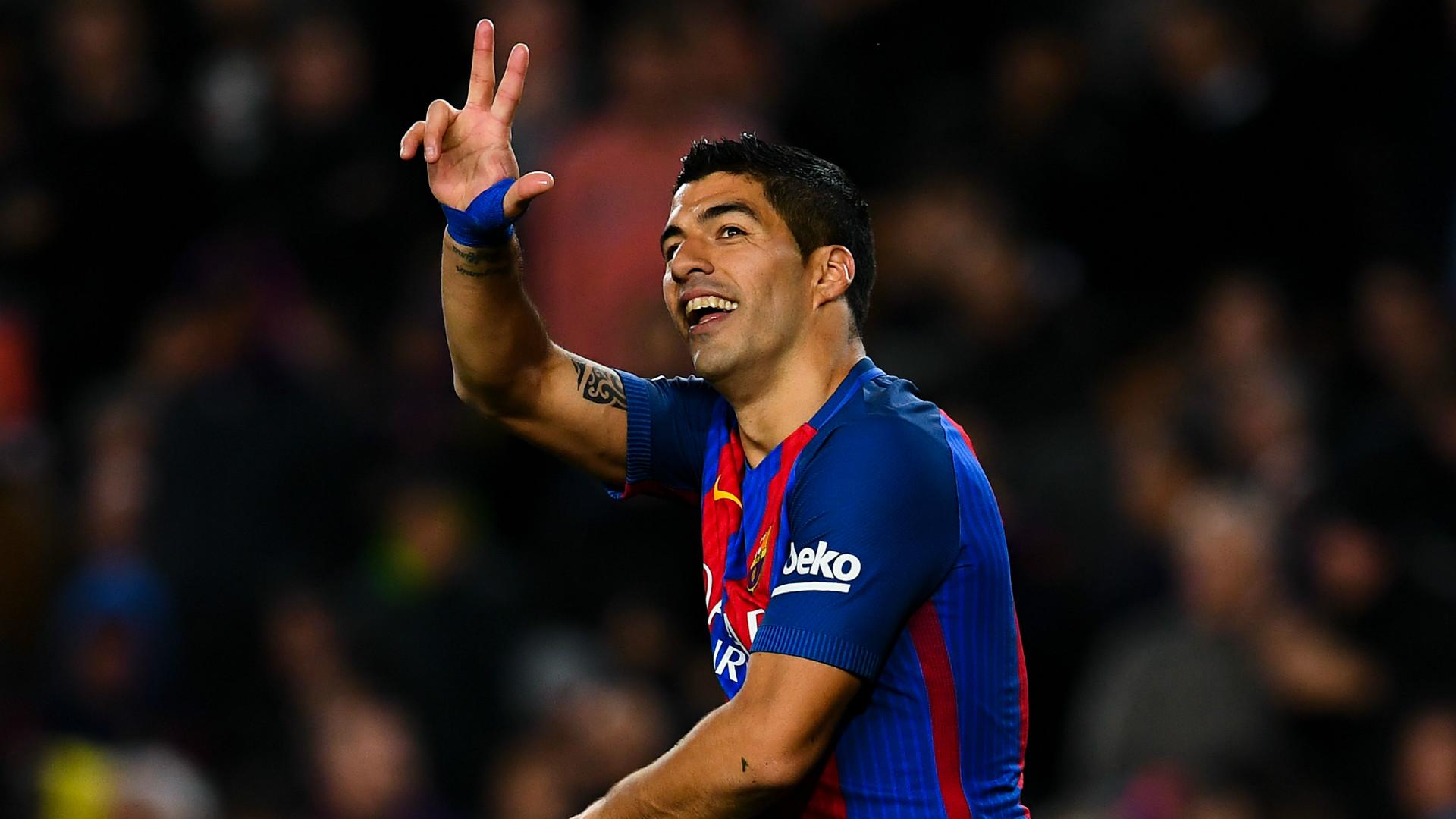 Luis Suarez Barcelona Sporting Gijon LaLiga