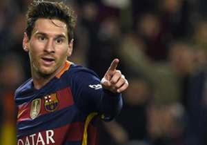 25) Barcelona 7-0 Valencia | Copa del Rey | 03-02-2016 | Leo estiró ventajas en un primer tiempo casi perfecto del equipo de Luis Enrique y marcó el tercer gol después de un doblete de Luis Suárez.