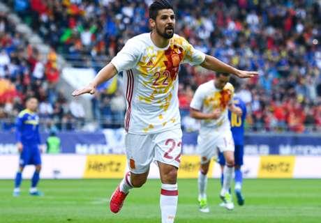 Brace Nolito Menangkan Spanyol