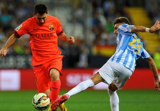 Malaga 0-0 Barcelona: Messi made to wait for 400-mark as Luis Enrique's side stumble