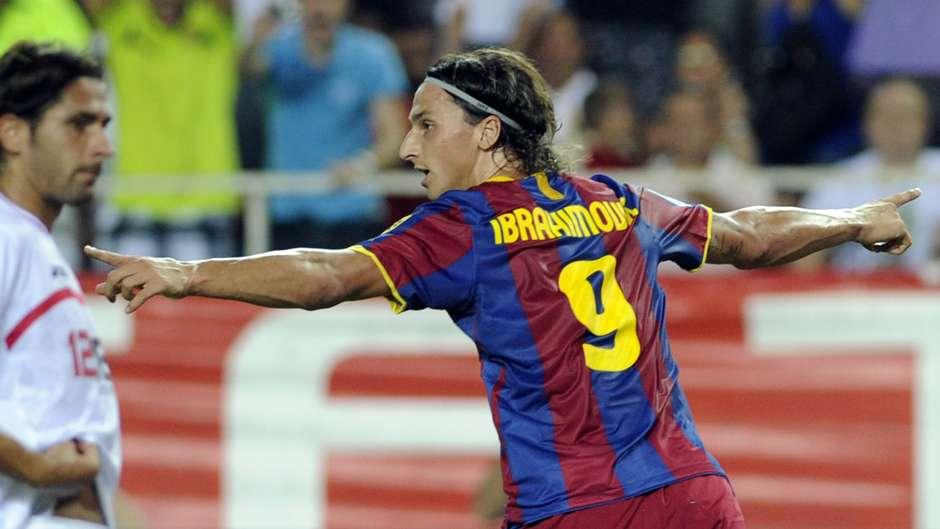 Ibrahimovic ex Barcelona player