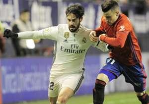 Isco (l.) steht bei Real Madrid noch bis 2018 unter Vertrag