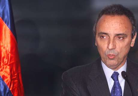 Gaspart a Florentino: Dí que no quieres al Barça