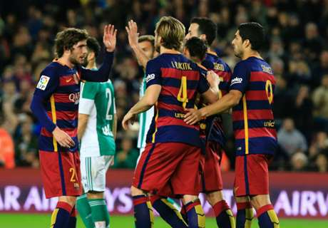 Barca, Real & Atleti im Gleichschritt