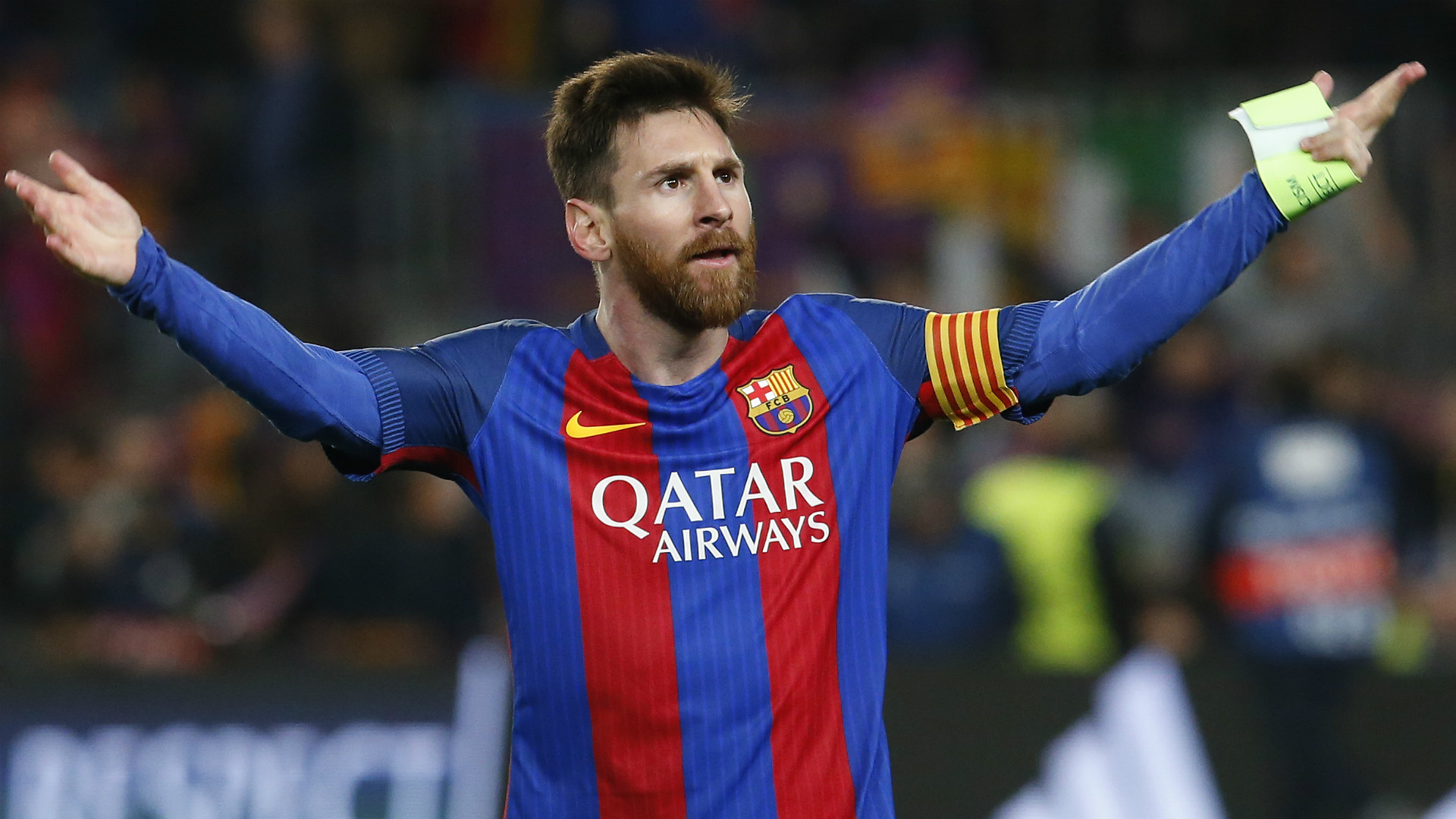 Lionel Messi Barcelona PSG UEFA Champions League 08032016