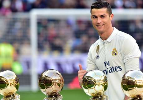 Simply The Best! CR7 cleans up awards