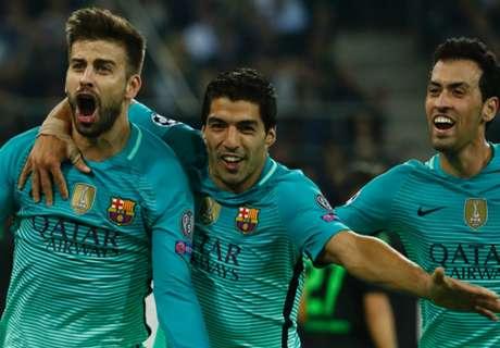 FT: Monchengladbach 1-2 Barcelona