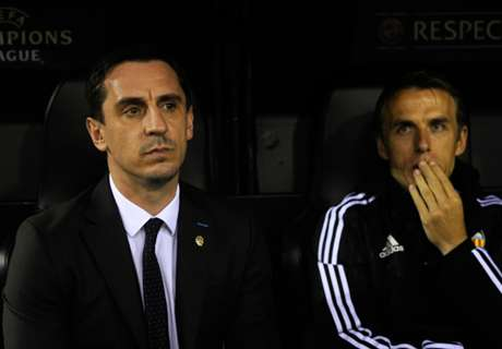 Angry fans turn on Neville's Valencia