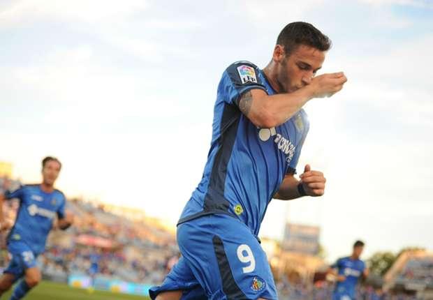 Getafe 1-0 Almería: El reencuentro de Álvaro Vázquez con el gol le da los primeros tres puntos a los azulones