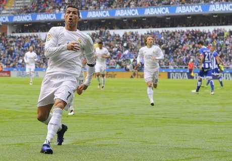 Zidane cuidó a Cristiano Ronaldo